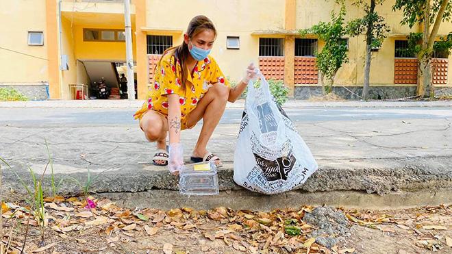 Phi Nhung lo lắng sau 2 tháng không gặp con, Võ Hoàng Yến đi nhặt rác trong khu cách ly - Ảnh 6.
