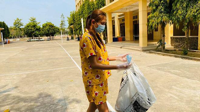 Phi Nhung lo lắng sau 2 tháng không gặp con, Võ Hoàng Yến đi nhặt rác trong khu cách ly - Ảnh 5.