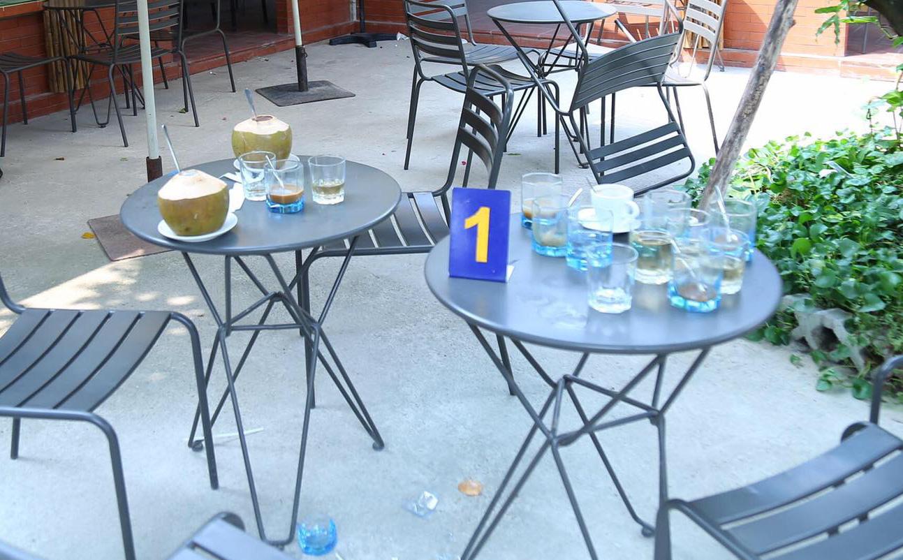Xác định nguyên nhân ban đầu vụ nổ súng ở quán cà phê khiến 1 người bị thương