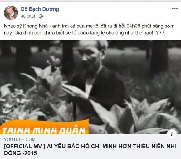 Tác giả ca khúc Ai yêu Bác Hồ Chí Minh hơn thiếu niên nhi đồng qua đời - ảnh 2