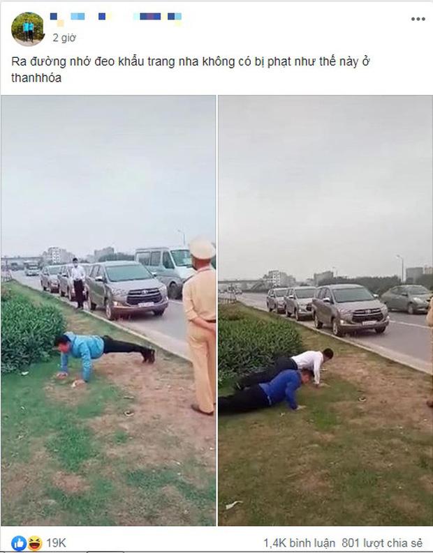 """CSGT Bắc Giang lên tiếng về clip phạt tài xế chống đẩy do không đeo khẩu trang chống COVID-19: """"Tài xế chống đẩy để chứng minh sức khoẻ tốt"""" - Ảnh 2."""