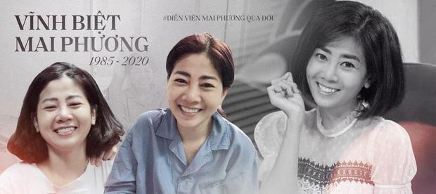 """Ốc Thanh Vân nghẹn ngào tại tang lễ nghệ sĩ Mai Phương: """"Mới hôm trước còn phải ngồi gục suốt, giờ em ấy đã được ngủ rồi"""" - ảnh 3"""