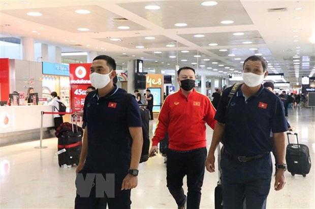 Tuyển nữ Việt Nam đến Australia, sẵn sàng cho trận lượt đi play-off - Ảnh 2.