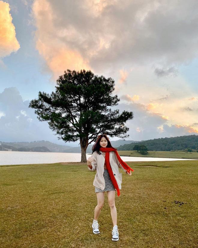 Gái xinh khiến Quang Hải - Nhật Lê bị đồn chia tay khi vừa tái hợp: Giỏi thả thính, là du học sinh Singapore - ảnh 5