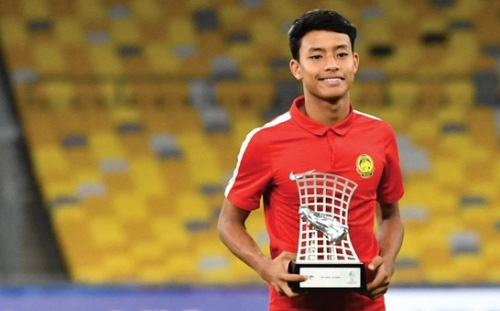 Sao trẻ Malaysia lọt top 50 thế giới, Việt Nam và Thái Lan vắng mặt hoàn toàn