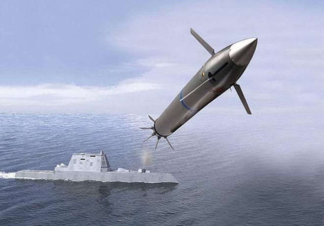 Vì sao Hải quân Mỹ buộc phải biến tàu chiến tàng hình Zumwalt thành khu trục hạm tên lửa? - Ảnh 1.