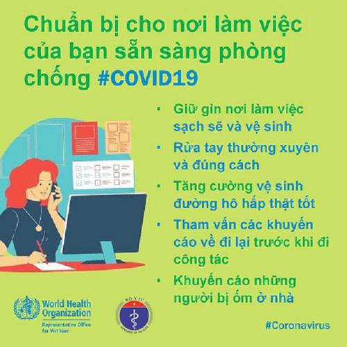 Phòng Covid-19 tại công sở: Khuyến cáo người ốm không đến cơ quan, thúc đẩy chế độ làm việc từ xa… - Ảnh 1.