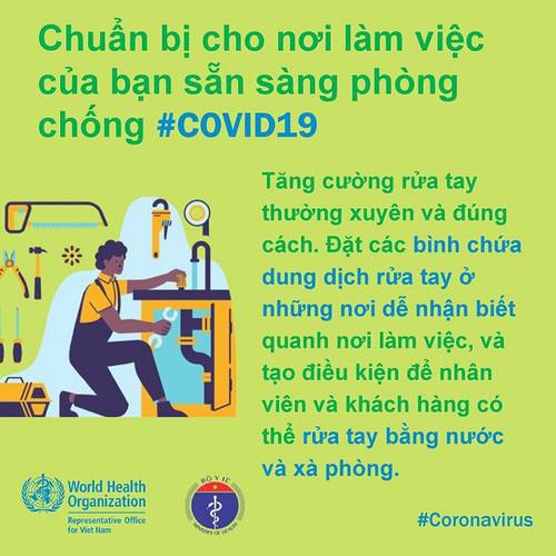 Phòng Covid-19 tại công sở: Khuyến cáo người ốm không đến cơ quan, thúc đẩy chế độ làm việc từ xa… - Ảnh 2.