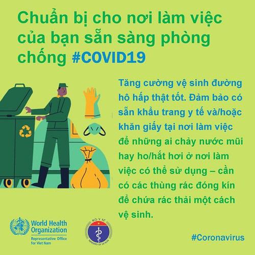 Phòng Covid-19 tại công sở: Khuyến cáo người ốm không đến cơ quan, thúc đẩy chế độ làm việc từ xa… - Ảnh 3.