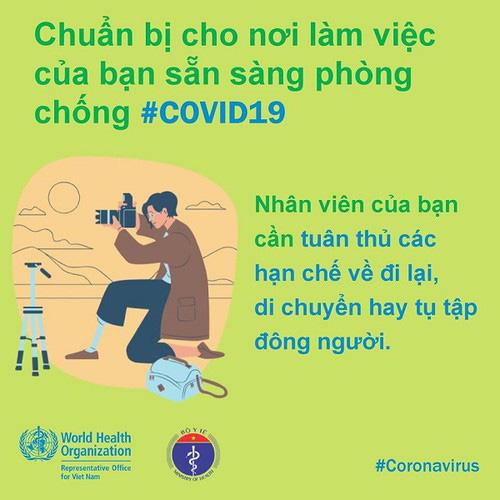 Phòng Covid-19 tại công sở: Khuyến cáo người ốm không đến cơ quan, thúc đẩy chế độ làm việc từ xa… - Ảnh 5.