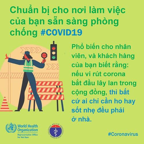 Phòng Covid-19 tại công sở: Khuyến cáo người ốm không đến cơ quan, thúc đẩy chế độ làm việc từ xa… - Ảnh 8.