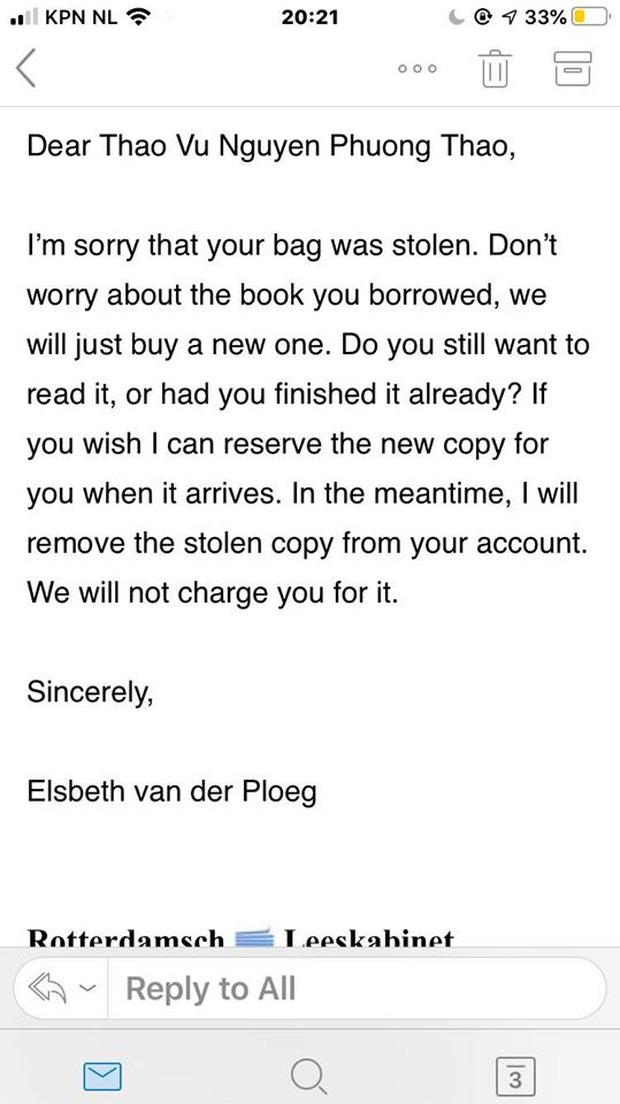 Làm mất sách cổ trong thư viện, nữ sinh hốt hoảng bù chi phí nhưng bất ngờ được thư viện cứu thua bằng dòng tin nhắn dễ thương - Ảnh 1.