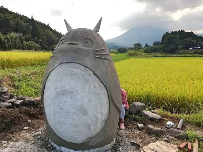Mê phim hoạt hình Totoro, đôi vợ chồng già cặm cụi làm trạm xe bus độc nhất vô nhị, khách thi nhau tìm đến chụp ảnh - Ảnh 8.