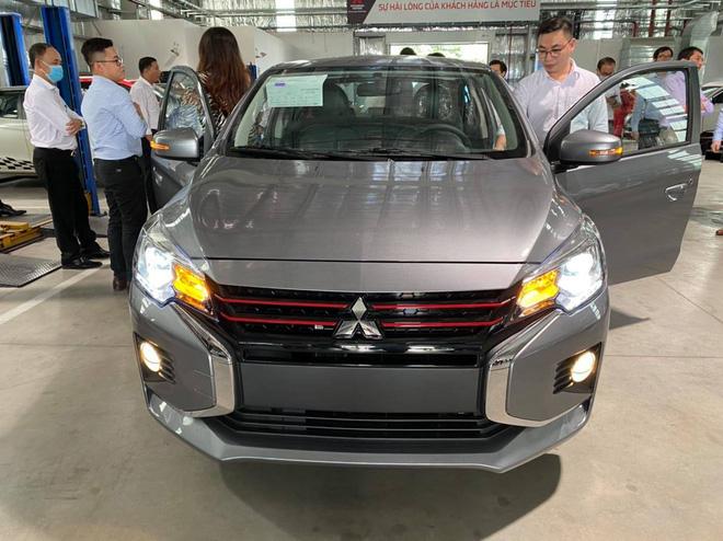 Lộ diện 'full' nội, ngoại thất các bản Mitsubishi Attrage 2020 tại Việt Nam, giá dự kiến tới 475 triệu đồng - Ảnh 2.