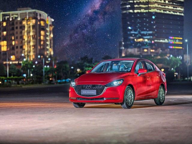 Mazda2 2020 chính thức ra mắt tại Việt Nam: Cạnh tranh Toyota Vios, nhưng công nghệ như CX-8 - Ảnh 1.