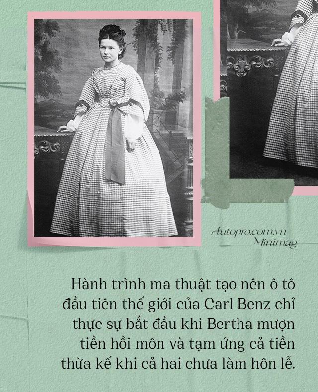 Chuyện ít biết về người vợ liều lĩnh của Benz: Không có bà thì không có Mercedes-Benz và càng không có ô tô hiện đại như ngày nay - Ảnh 1.