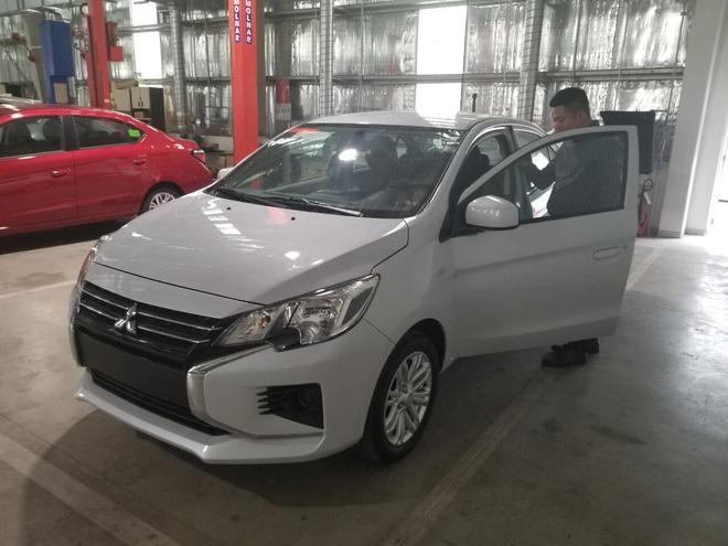 Lộ diện 'full' nội, ngoại thất các bản Mitsubishi Attrage 2020 tại Việt Nam, giá dự kiến tới 475 triệu đồng - Ảnh 4.