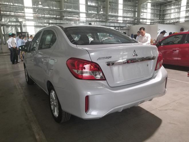Lộ diện 'full' nội, ngoại thất các bản Mitsubishi Attrage 2020 tại Việt Nam, giá dự kiến tới 475 triệu đồng - Ảnh 5.