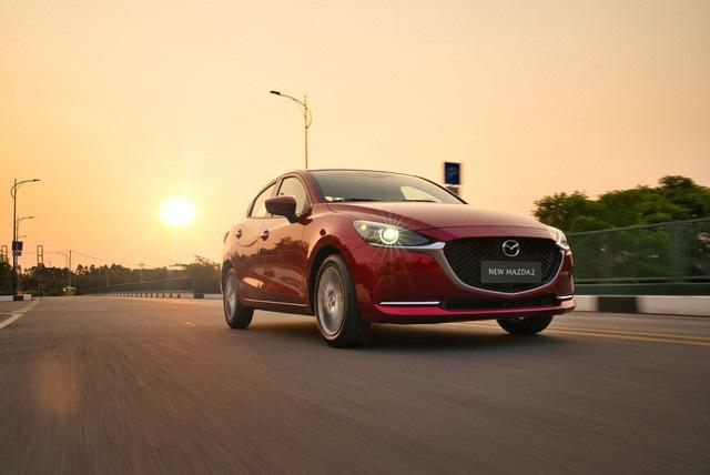 Mazda2 2020 chính thức ra mắt tại Việt Nam: Cạnh tranh Toyota Vios, nhưng công nghệ như CX-8 - Ảnh 4.