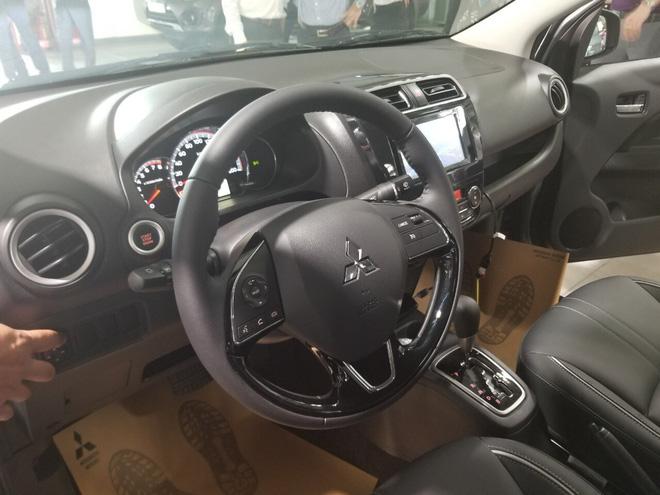 Lộ diện 'full' nội, ngoại thất các bản Mitsubishi Attrage 2020 tại Việt Nam, giá dự kiến tới 475 triệu đồng - Ảnh 6.