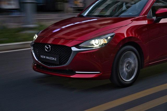 Mazda2 2020 chính thức ra mắt tại Việt Nam: Cạnh tranh Toyota Vios, nhưng công nghệ như CX-8 - Ảnh 5.