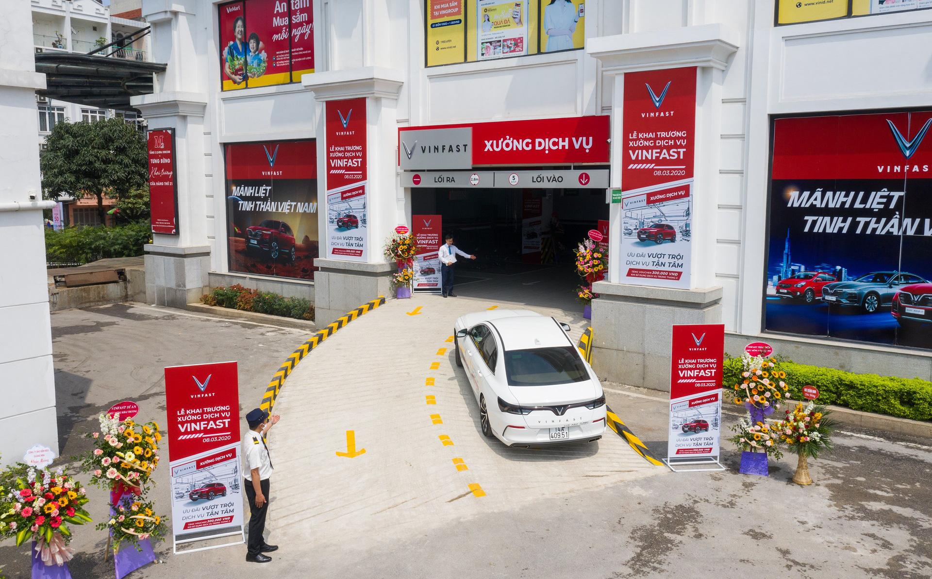 Khai trương 18 xưởng dịch vụ, VinFast lọt top 5 hãng có hệ thống xưởng dịch vụ lớn nhất VN