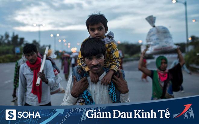 """Khủng hoảng COVID-19: Ấn Độ phong tỏa, nhiều lao động nghèo phải về quê vì """"không ai ăn được sỏi đá cả"""""""