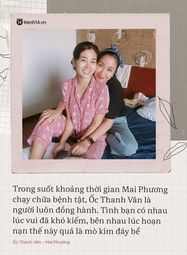 Có 2 người bạn tri kỷ luôn ở bên cố diễn viên Mai Phương lúc đau đớn, tràn lệ vì bệnh tật cho đến khi nhắm mắt xuôi tay - Ảnh 1.