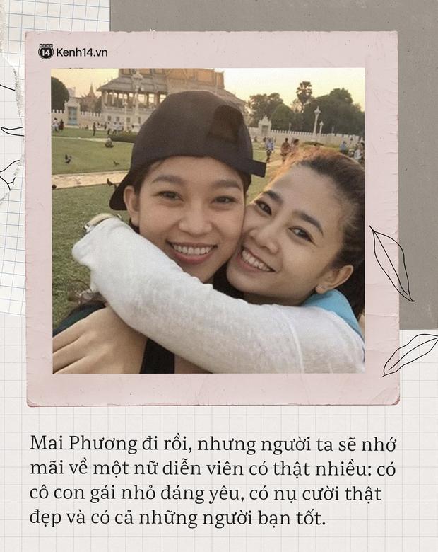 Có 2 người bạn tri kỷ luôn ở bên cố diễn viên Mai Phương lúc đau đớn, tràn lệ vì bệnh tật cho đến khi nhắm mắt xuôi tay - Ảnh 4.