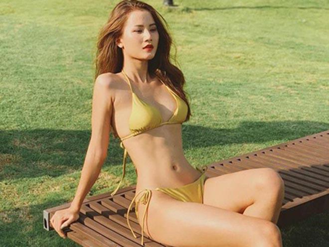 Người mẫu Việt gợi cảm, nổi tiếng về quê chăn trâu phụ giúp gia đình - Ảnh 6.