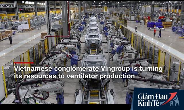 Huy động mọi nguồn lực của cả VinFast và VinSmart sản xuất máy thở, Vingroup được CNN hết lời ca ngợi - Ảnh 1.