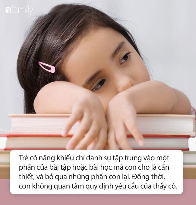 Vì sao thấy con rất thông minh, ham học mà vẫn bị các thầy cô chê là lười học, mất tập trung? - Ảnh 2.