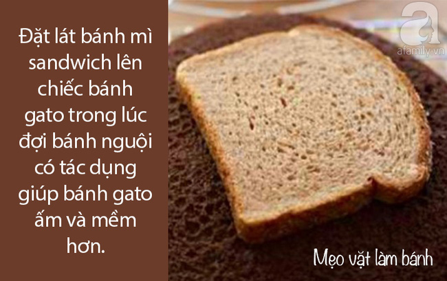 Mẹo vặt làm các loại bánh quen thuộc - biết rồi đến người vụng nhất làm cũng ngon - Ảnh 3.
