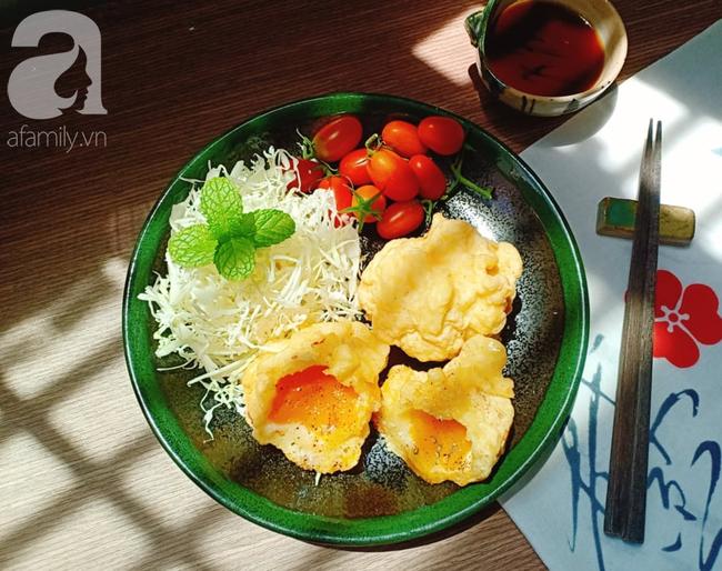 Tôi học được đầu bếp người Nhật cách làm tempura trứng, cả 2 con đứa nào cũng thích mê - Ảnh 7.