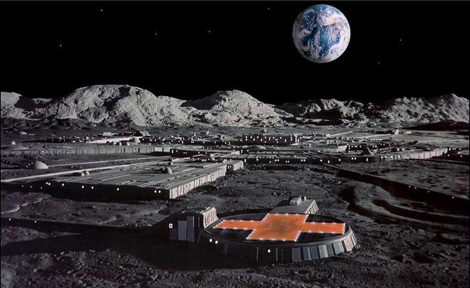 Xây dựng căn cứ trên Mặt Trăng bằng nước tiểu của phi hành gia: Nghe qua tưởng vô lý nhưng các nhà khoa học đang hiện thực hóa điều này - Ảnh 1.