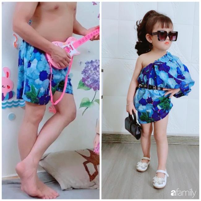 Ở nhà quá chán, hot mom Hà Nội nảy ra ý định lấy quần đùi của chồng cosplay cho con gái 2 tuổi, không ngờ ra lò bộ ảnh đẹp như tạp chí - Ảnh 5.