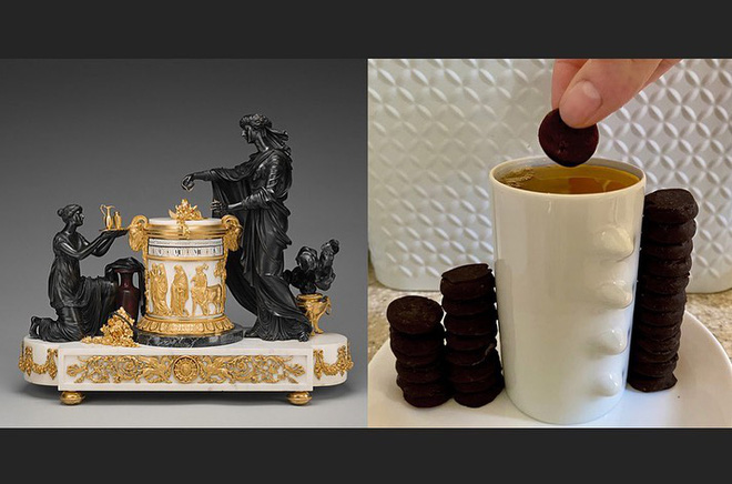 Ở nhà tránh Covid-19, dân mạng thi nhau sử dụng đồ dùng gia đình để bắt chước theo những tác phẩm nghệ thuật nổi tiếng thế giới - Ảnh 7.