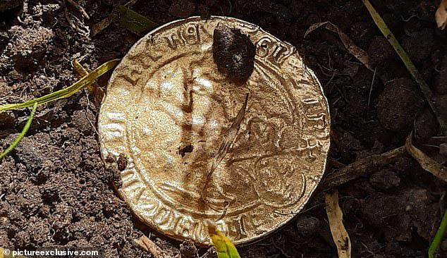 Buồn chán vì cách ly ở nhà nên giết thời gian bằng máy dò kim loại, người phụ nữ kinh ngạc khi phát hiện báu vật từ 500 năm trước - Ảnh 3.