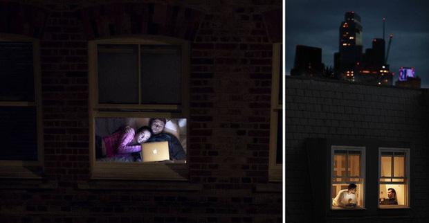 Nhiếp ảnh mùa dịch: Bộ ảnh qua khung cửa sổ hàng xóm trong những ngày ở nhà giãn cách xã hội - Ảnh 1.