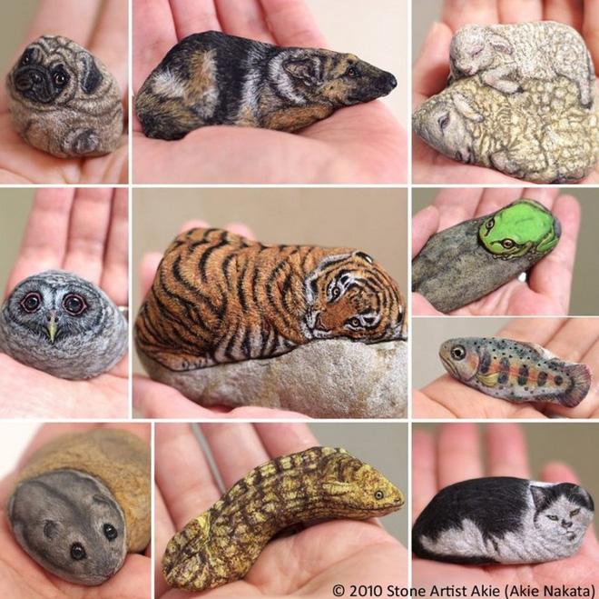 Nghệ sỹ Nhật biến những viên đá đơn điệu thành những tác phẩm nghệ thuật đầy quyến rũ - Ảnh 13.