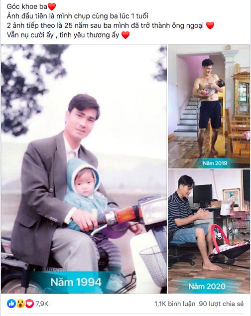 2 bức ảnh với khoảng cách 25 năm khiến tất cả trầm trồ: Nhan sắc của người đàn ông đã bị thời gian bỏ quên? - Ảnh 1.