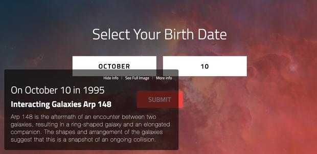 Vũ trụ trông như thế nào vào ngày bạn ra đời? Đây là câu trả lời từ NASA - Ảnh 2.