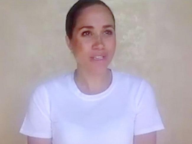 Meghan Markle phá vỡ sự im lặng, lần đầu lên tiếng sau khi chuyển đến Mỹ sinh sống - Ảnh 1.