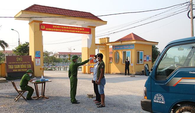 Phòng chống COVID-19 trong các cơ sở giam giữ - Ảnh 4.