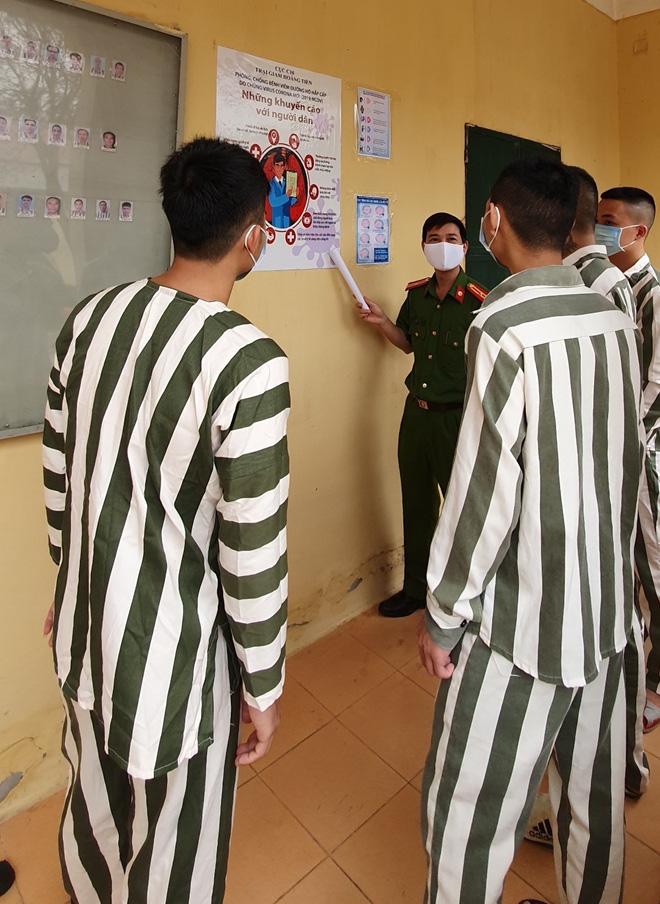 Phòng chống COVID-19 trong các cơ sở giam giữ - Ảnh 6.