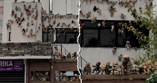 Bức ảnh ngôi nhà búp bê ghê rợn lan truyền trên mạng xã hội, cư dân mạng rỉ tai nhau: Đừng tìm nó trên Google Maps vào ban đêm mà mất ngủ! - Ảnh 1.