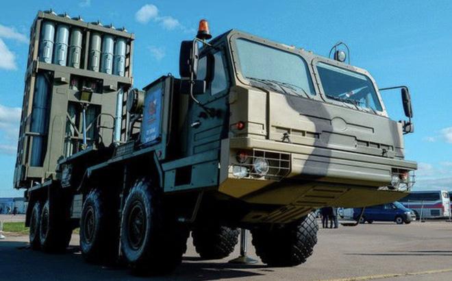 S-350 Nga: Chốt chặn cuối cùng đón đánh F-15, F-16 còn F-22 và F-35 để dành cho S-400! - Ảnh 1.