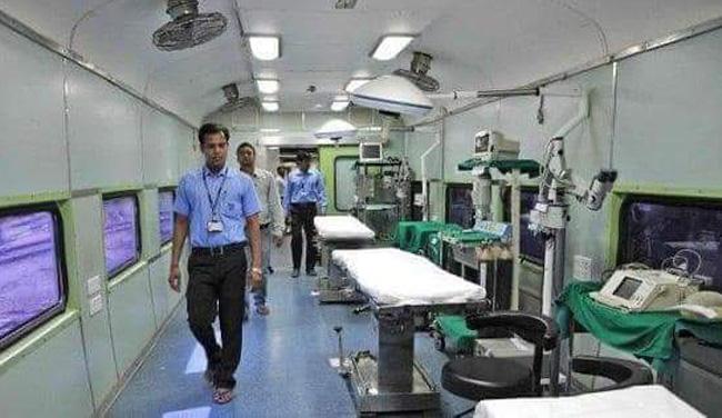 Ấn Độ và Pakistan chuyển tàu hỏa thành bệnh viện dã chiến chống COVID-19 - Ảnh 1.