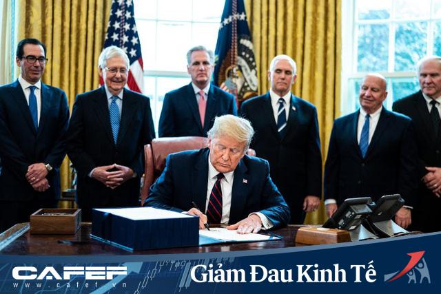 Tung gói cứu trợ kinh tế lớn chưa từng có, ông Trump và Fed có thể khiến đồng USD bị nhấn chìm một lần nữa? - Ảnh 2.