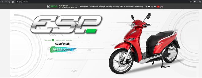PEGA âm thầm đổi tên eSH thành ESP nhưng vẫn sót, tưởng thôi nhái Honda mà không phải vậy - Ảnh 1.